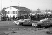 63035 - 1963 Australian Touring Car Championship - Mallala 15th April 1963 - Bob Jane, Jaguar, Ern Abbott & Clem Smith, Valiant R Series