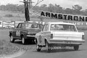 63731 - David McKay & Greg Cusack, Vauxhall Velox & Jim O'Shannessy & John Brindley, Holden EH S4 - Armstrong 500 Bathurst 1963