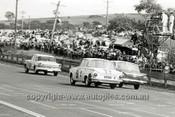 63734 -Warren Weldon & Bert Needham, Studebaker Lark & Ian & Leo Geoghegan, Cortina GT  - Armstrong 500 Bathurst 1963