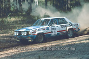 78909 - George Fury & Monty Suffern, Datsun Stanza - Winner of the  Southern Cross Rally 1978