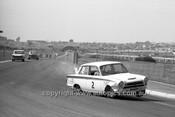 64118 - Allan Moffat Lotus Cortina GT - Sandown 6 Hour International  29th November 1964  - Photographer  Peter D'Abbs