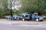 65084 - Neptune Race Team Transporter - Beechey, Mustang - McKeown Lotus Cortina - Manton Morris Cooper S