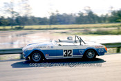 71499 - Iain Corness, MGB - Warwick Farm 1971