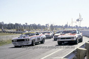 78067 - Start of the ATCC Race Symmons Plains 1978 - Moffat and Brock on the front row.