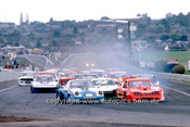 84082 - Peter Fitzgerald, Porsche & Allan Grice ,Monza - First Lap Sandown 1984 - Photographer Peter D'Abbs