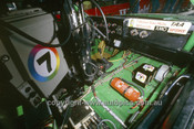 85777 - TV camera inside Dick Johnson's  Mustang - James Hardie 1000 Bathurst 1985