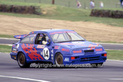90772  -  Murray Carter & Matt Wacker, Ford Sierra - Tooheys 1000 Bathurst 1990 - Photographer Ray Simpson