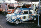 700002 - Lakis Mantics Morris Cooper S - Symmons Plains 1970 - Photographer Perry Drury