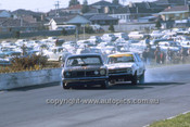710007 - Phil Barnes & Bob Skelton Falcon XY GTHO - Peter Brock Torana LC XU1  - Sandown 250 1971
