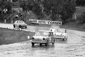 64126 - Alan S Jones, Morris 850 & R. Steven, Morris Cooper  - Hume Weir 20th September 1964 - Photographer Bruce Wells