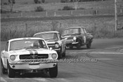 65087 -  Bob Jane, Mustang, Brian Muir, Holden EH S4 & Ian Geoghegan, Lotus Cortina - 14th April 1965 - Bathurst