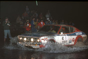 77933 - Timo Makinen & Henry Liddon, Datsun 710 - 1977 Southern Cross Rally - Photographer Lance J Ruting
