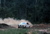 77934 - Timo Makinen & Henry Liddon, Datsun 710 - 1977 Southern Cross Rally - Photographer Lance J Ruting