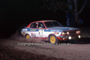 77940 - Shekah Mehta & Adrian Mortimer, Datsun PB210 - 1977 Southern Cross Rally - Photographer Lance J Ruting