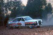 779448 - Blair Robson & Chris Porter, Ford Escort RS 1800 - 1977 Southern Cross Rally - Photographer Lance J Ruting