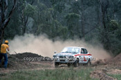 779451 - Aswin Nasution & Pontjo Sutowa, Mitsubishi Lancer - 1977 Southern Cross Rally - Photographer Lance J Ruting