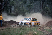 779453 - Harry Jensen & David Johnson,  Volvo 244 GL- 1977 Southern Cross Rally - Photographer Lance J Ruting