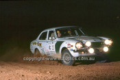 779455 - Ian Hill  &  Graham Roser, Mitsubishi Lancer- 1977 Southern Cross Rally - Photographer Lance J Ruting