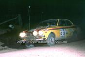 779460 - Shigeru Kanno  &  Kiyoshi Kawamura, Mitsubishi Lancer - 1977 Southern Cross Rally - Photographer Lance J Ruting