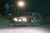 779461 - Roger Bonhomme  &  Paul Paterson, Datsun 1600 - 1977 Southern Cross Rally - Photographer Lance J Ruting