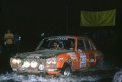 779464 - Brian Hilton & Barry Lake,  Peugeot 504 - 1977 Southern Cross Rally - Photographer Lance J Ruting