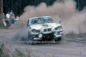 779471 - Toshihiso Akimoto  &  Tan Masapuni, Mitsubishi Lancer - 1977 Southern Cross Rally - Photographer Lance J Ruting