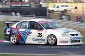 99376 - Jason Bargwanna, Holden Commodore VT - Hidden Valley Raceway, Darwin 1999 - Photographer Marshall Cass
