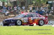 99372 - John Briggs, Ford Falcon AU - Hidden Valley Raceway, Darwin 1999 - Photographer Marshall Cass