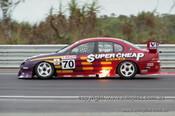99371 - John Briggs, Ford Falcon AU - Hidden Valley Raceway, Darwin 1999 - Photographer Marshall Cass