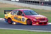 99364 - Dick Johnson, Ford Falcon AU - Hidden Valley Raceway, Darwin 1999 - Photographer Marshall Cass