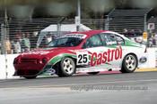 99349 - Tony Longhurst, Ford Falcon AU - Adelaide 500 1999 - Photographer Marshall Cass