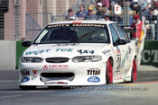 99348 - Alan Heath, Ford Falcon EL - Adelaide 500 1999 - Photographer Marshall Cass