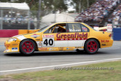 99338 - Cameron McLean, Ford Falcon EL/2 - Adelaide 500 1999 - Photographer Marshall Cass