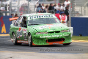 99334 - John Cotter, Holden Commodore VS - Adelaide 500 1999 - Photographer Marshall Cass