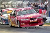 99329 - Simon Emerzidis, Ford Falcon EL/2 - Adelaide 500 1999 - Photographer Marshall Cass