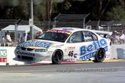 99322 - John Faulkner, Holden Commodore VT - Adelaide 500 1999 - Photographer Marshall Cass