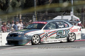 99318 - Russell Ingall, Holden Commodore VT - Adelaide 500 1999 - Photographer Marshall Cass