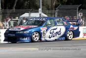 99312 - Neil Crompton, Ford Falcon AU - Adelaide 500 1999 - Photographer Marshall Cass