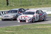 98730 - Steven Richards / Matthew Neal, Nissan Primera & Rickard Rydell / Jim Richards Volvo S40 - AMP 1000 Bathurst 1998 - Photographer Marshall Cass