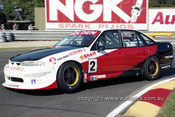 97014 - Mark Skaife, Gibson Motor Sport VS Commodore - Sandown 1997 - Photographer Marshall Cass
