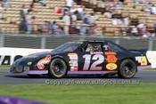 99012 - Paul Scicluna, Pontiac Grand Prix - NASCAR - Albert Park 1999 - Photographer Marshall Cass