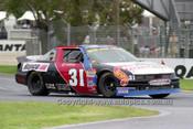 99009 - Cameron Fisher, Chevrolet Lumina - NASCAR - Albert Park 1999 - Photographer Marshall Cass