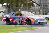 99008 - Ken James, Chevrolet Monte Carlo - NASCAR - Albert Park 1999 - Photographer Marshall Cass