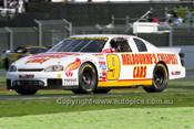 99005 - Eddie Abelnica, Chevrolet Monte Carlo - NASCAR - Albert Park 1999 - Photographer Marshall Cass