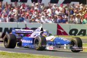 96508 - Jacques Villeneuve, Williams Renault - Australian Grand Prix Adelaide 1996 - Photographer Marshall Cass