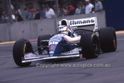 94504 - Nigel Mansell - Williams Renault - Winner of the Australian Grand Prix - Adelaide 1994