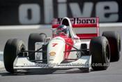 93521 - Mika Hakkinen - McLaren Ford  - Australian Grand Prix Adelaide 1993 -Photographer Marshall Cass
