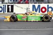 93519 - Michael Schumacher, Benetton-Ford - Australian Grand Prix Adelaide 1993 - Photographer Marshall Cass