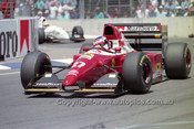 93518 - Jean Alesi, Ferrari  - Australian Grand Prix Adelaide 1993 - Photographer Marshall Cass