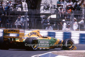 92514 - Michael Schumacher, Benetton-Ford - 2nd Place Australian Grand Prix - Adelaide 1992